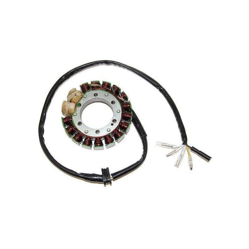 Stator d'allumage Electrosport avec bobines d'éclairage Honda XR 600 R 85-98