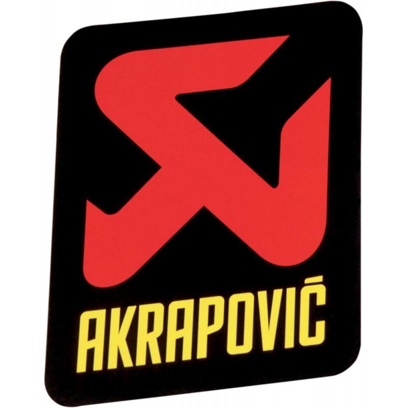 Sticker Akrapovic 95x95mm