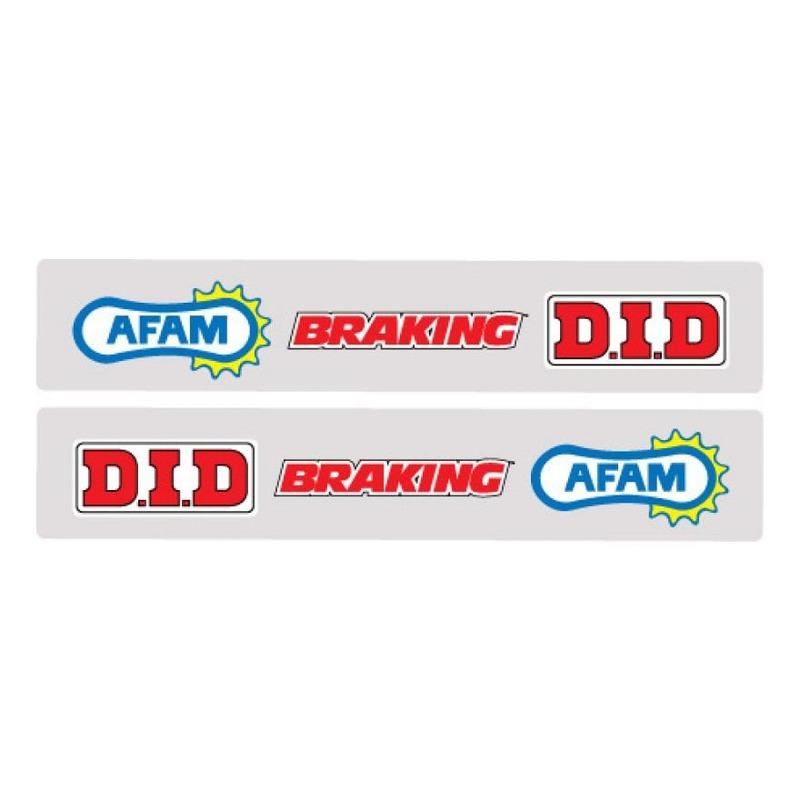 Stickers bras oscillant FX Factory Effex Afam/Braking/DID