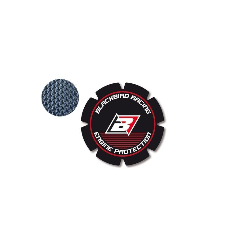 Stickers de couvercle d'embrayage Blackbird Honda CR 250R 93-07 rouge/noir