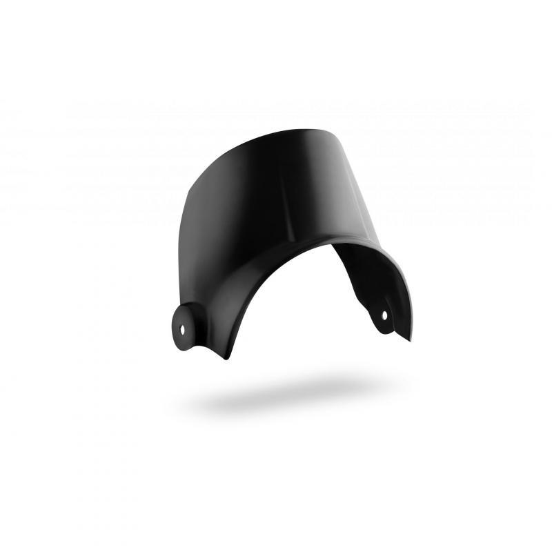 Support de compteur avec saute-vent C. Racer noir Ymaha XSR 700 16-19
