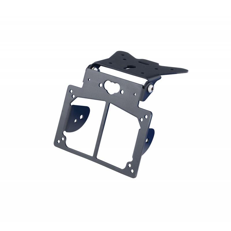 Support de plaque ajustable avec supports clignotants