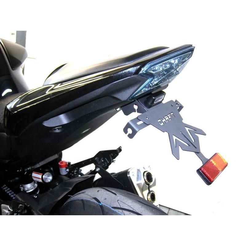 Support de Plaque Chaft pour Kawasaki Z800 2013