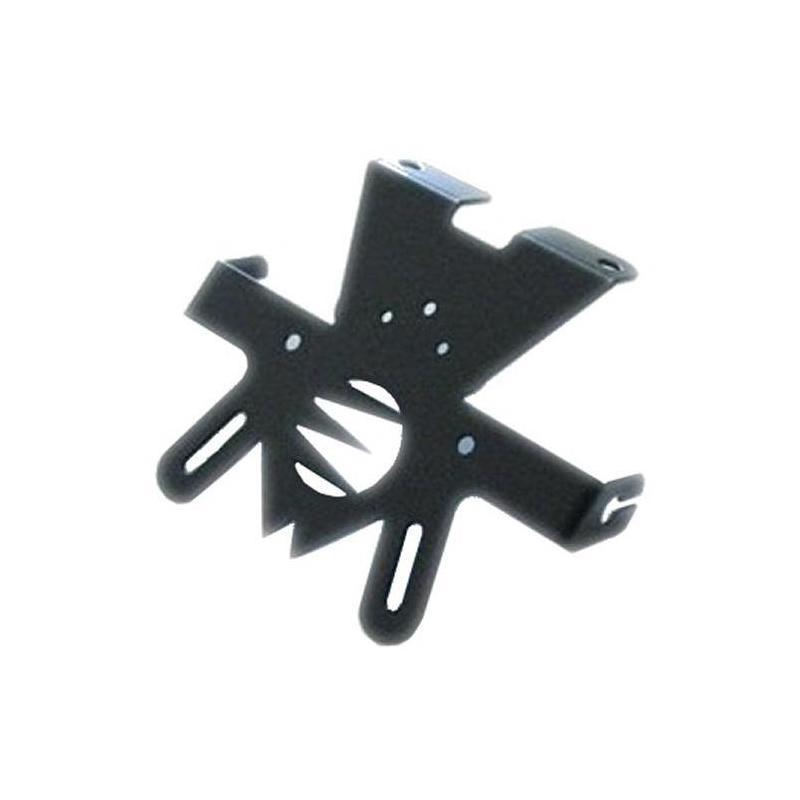 Support de plaque Suzuki GSF 650 BANDIT 09/14 noir