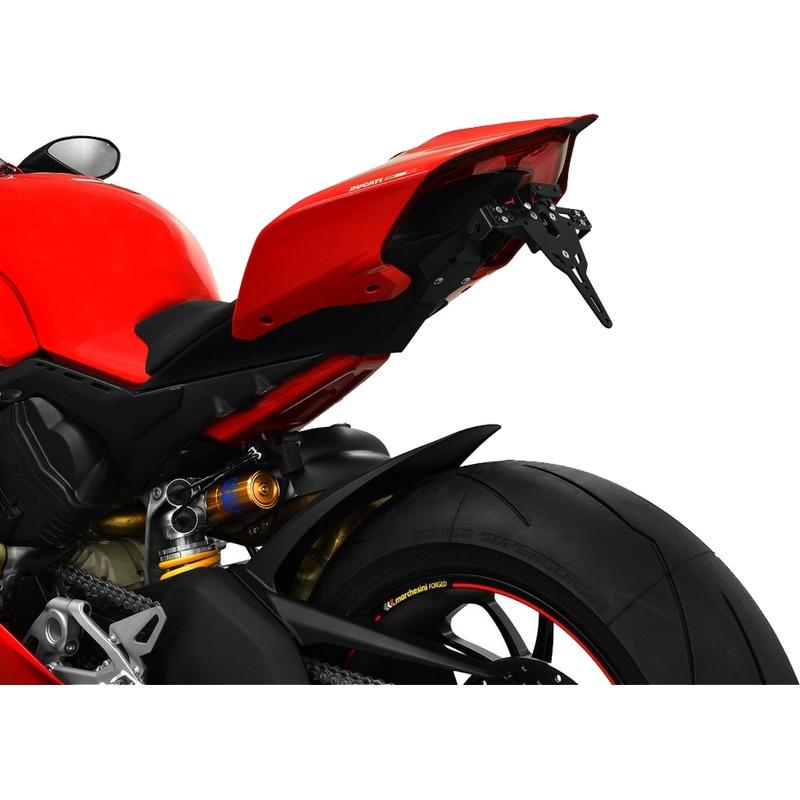 Support de plaque Zieger Ducati Panigale V4 18-19