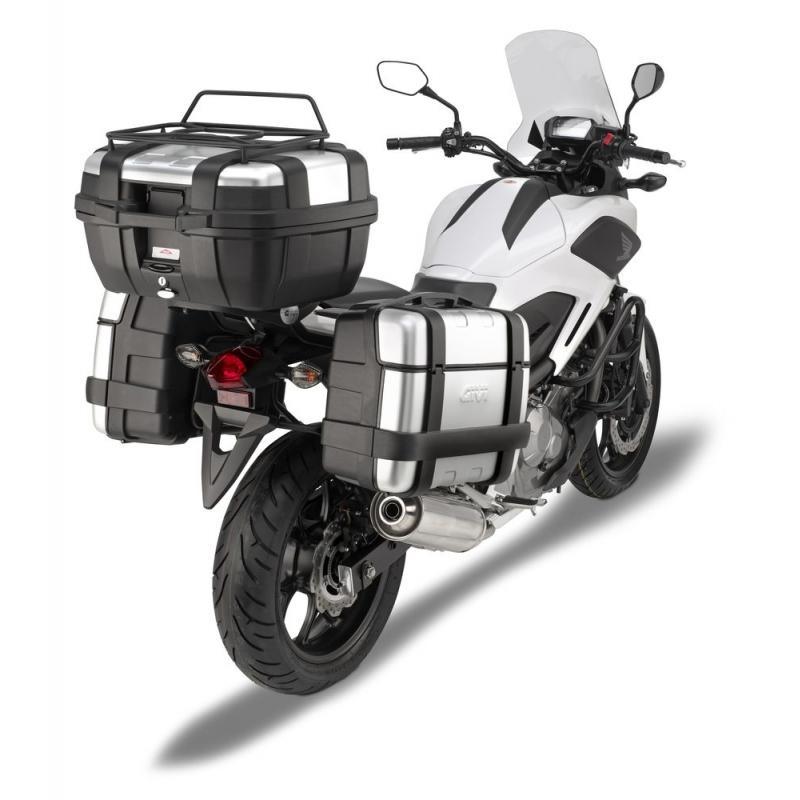 Support de top case Givi Monorack Honda NC700S 12-13 / NC750S / NC750S DCT 14-