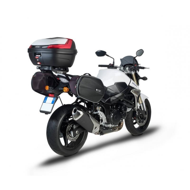 Support de top case Givi Monorack Suzuki GSR 750 11-16