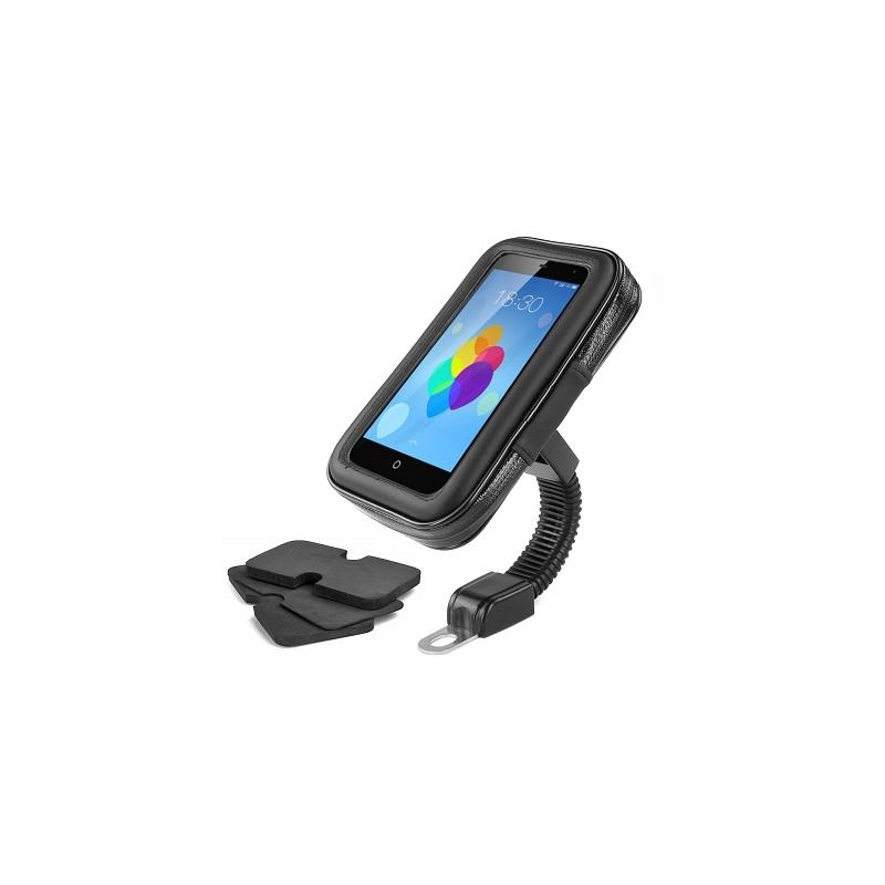 Support GPS / Smartphone Tektronis universel fixation rétroviseur moto / scooter