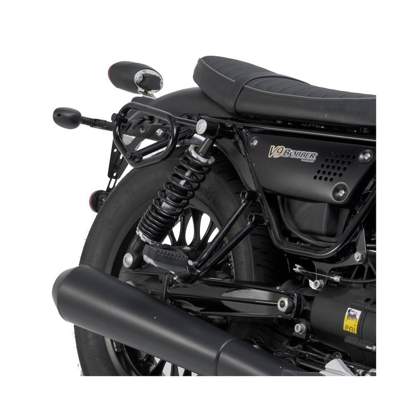 Support latéral SW-Motech SLC droit Moto Guzzi V9 Bobber 16-20