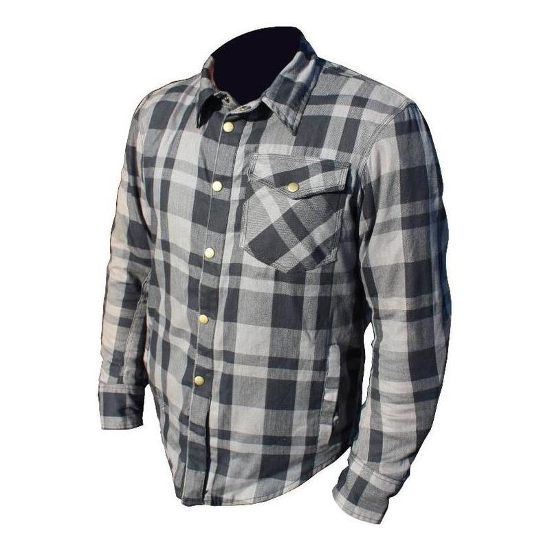 Sur-chemise Archive Woody gris/noir