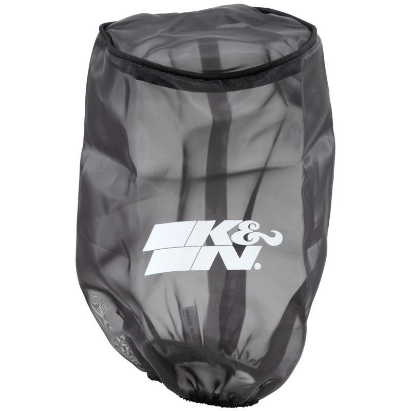 Sur-filtre à air K&N universel noir L229mm