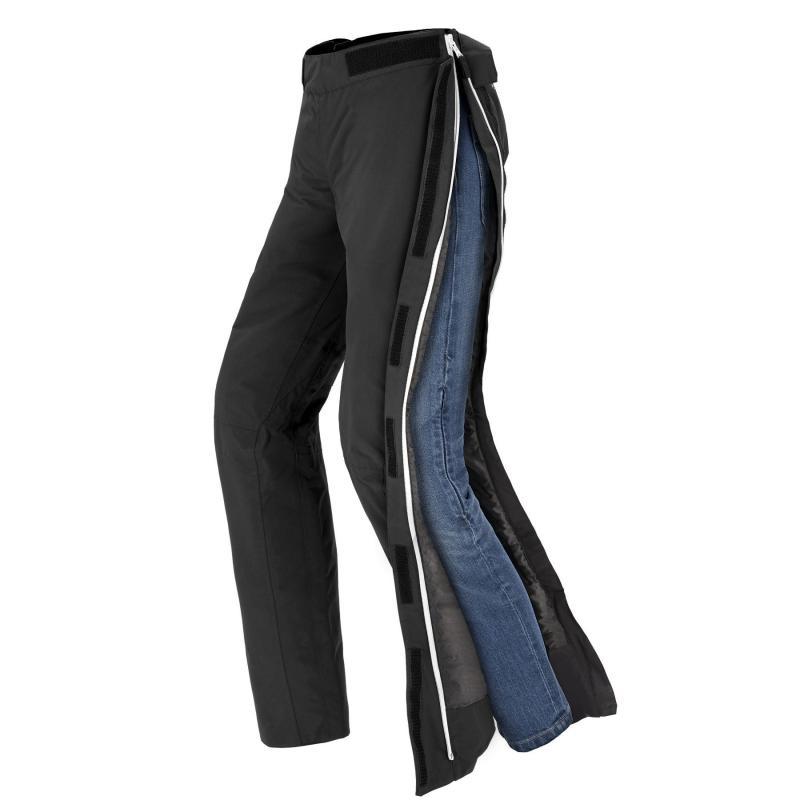 Sur-pantalon textile femme Spidi Superstorm Lady noir