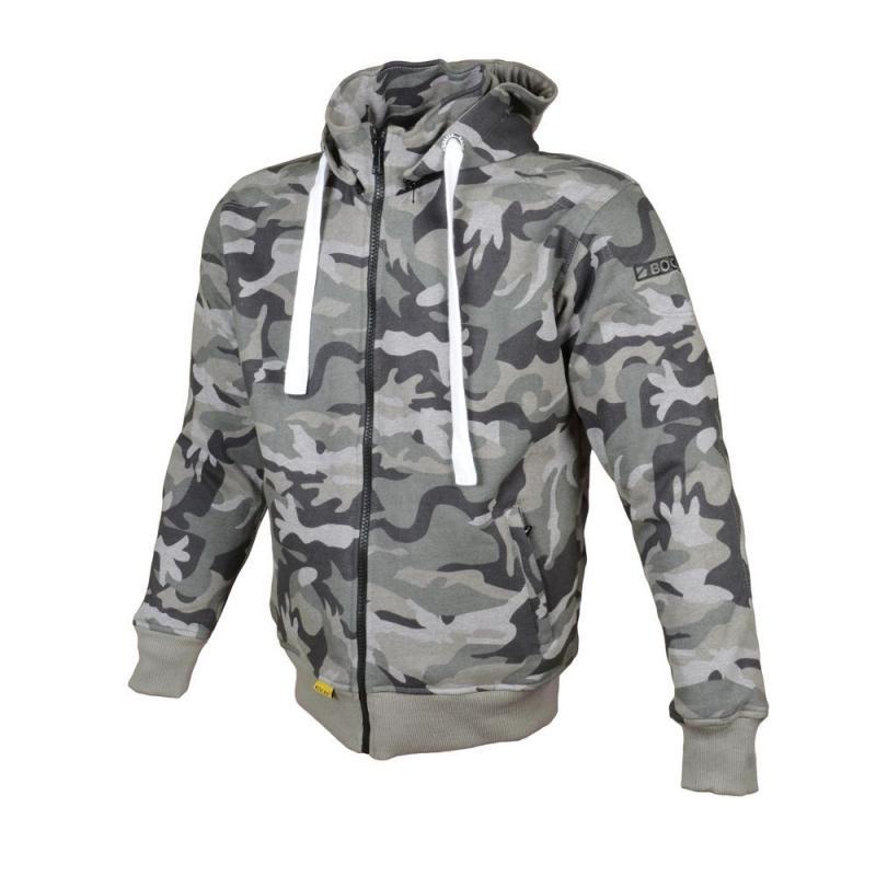 Sweat à capuche Booster Hoodie Kevlar Core camouflage vert