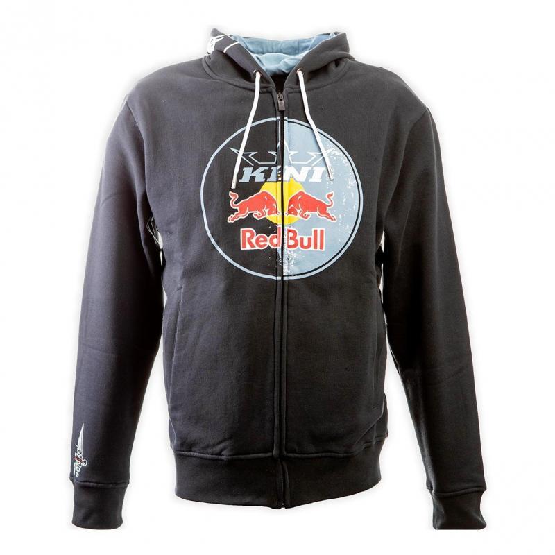 Sweat capuche enfant Kini Red Bull Circle anthracite