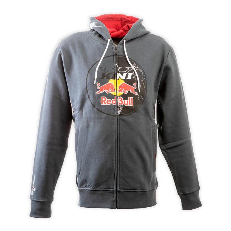 Sweat capuche Kini Red Bull Circle dark grey