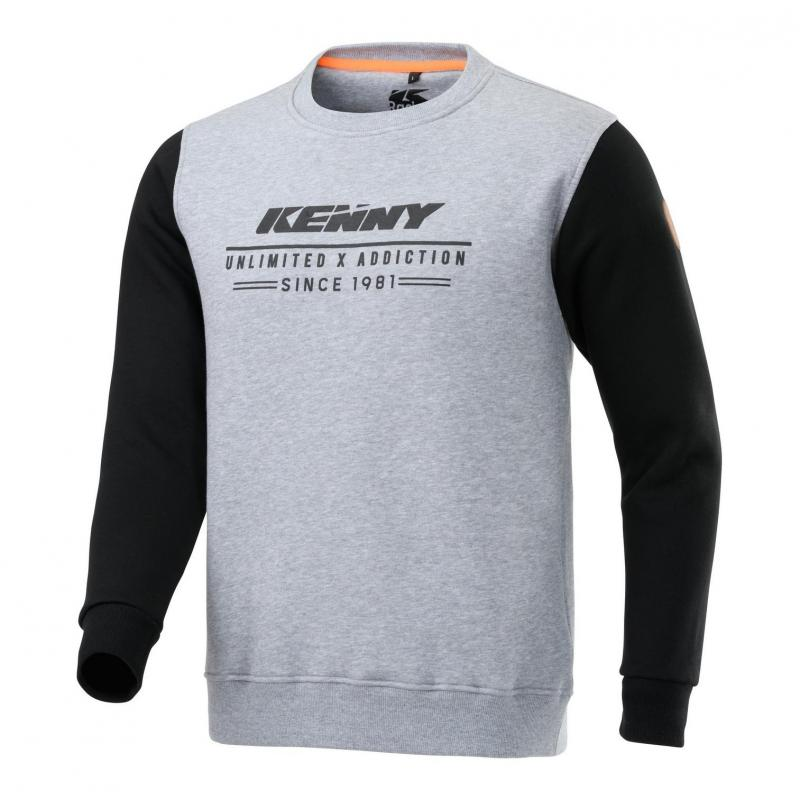 Sweat Kenny Original gris/noir