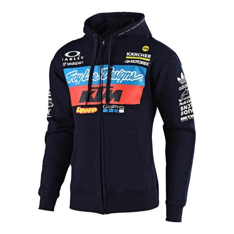 Troy Lee Designs Sweat a Capuche Zipp/é KTM 2019 Team