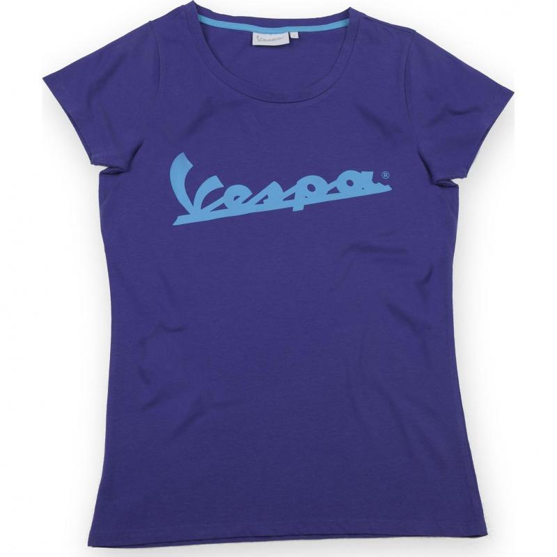 T-shirt femme Vespa Colours violet