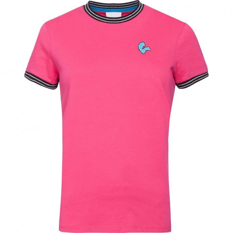 T-shirt femme Vespa V-Stripes fuchsia