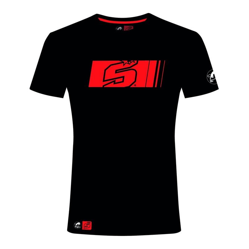 T-shirt Furygan JZ5 Dark Zarco noir/rouge