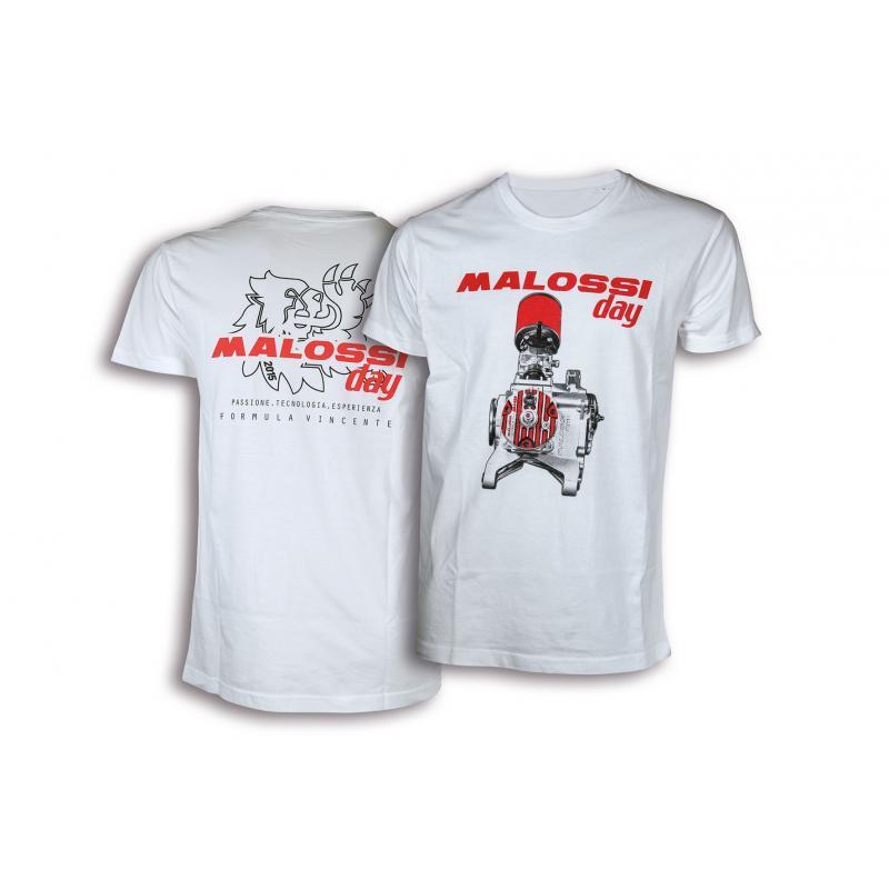 T-shirt Malossi Day Blanc