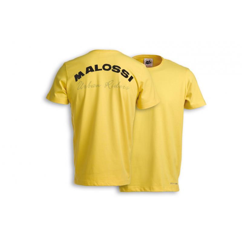 T-shirt Malossi Riders jaune