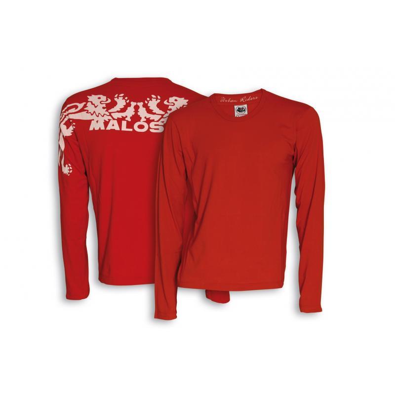 T-shirt manche longue Malossi Start rouge