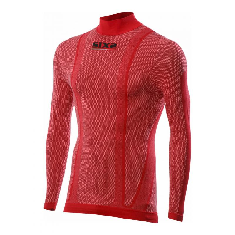T-Shirt manches longues Sixs TS3 rouge