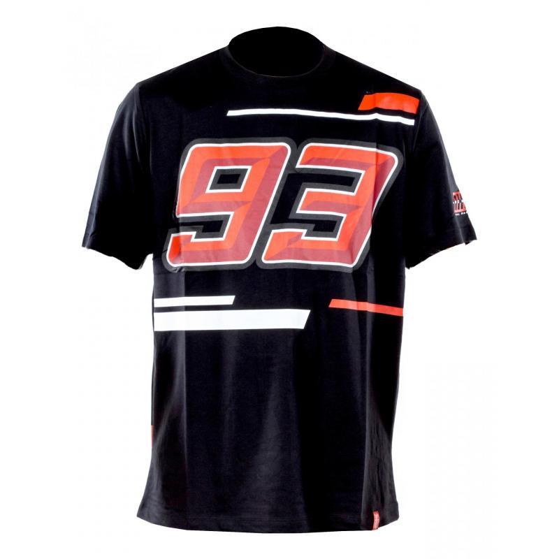 T-Shirt Marc Marquez 93 gris foncé