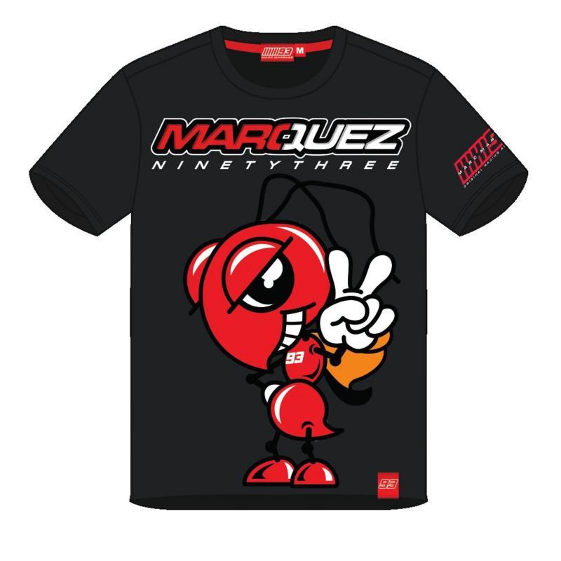 T-Shirt Marc Marquez Mascotte anthracite