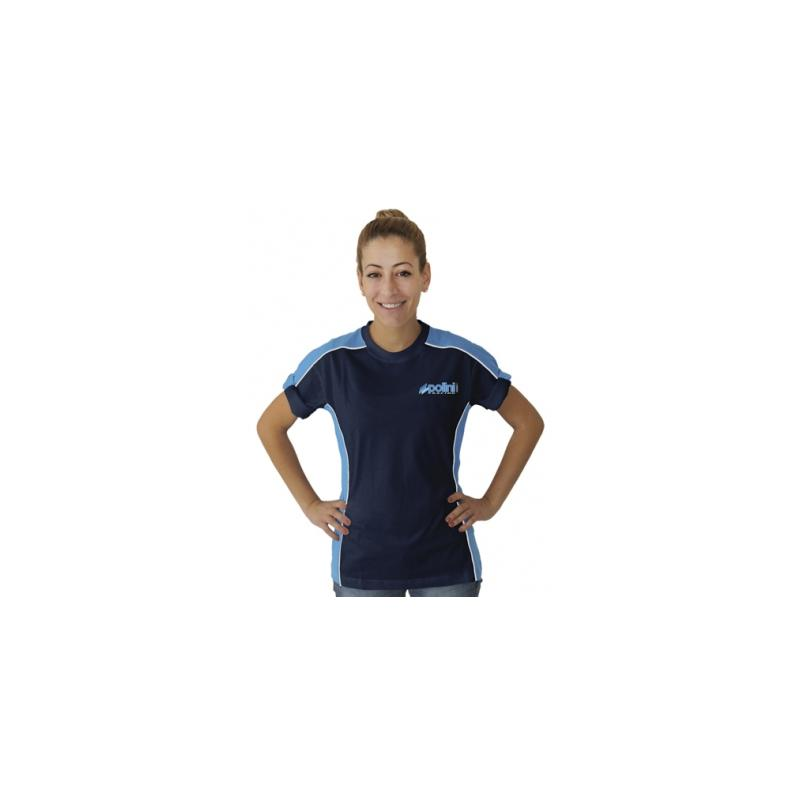 T shirt race team Polini bleu femme S