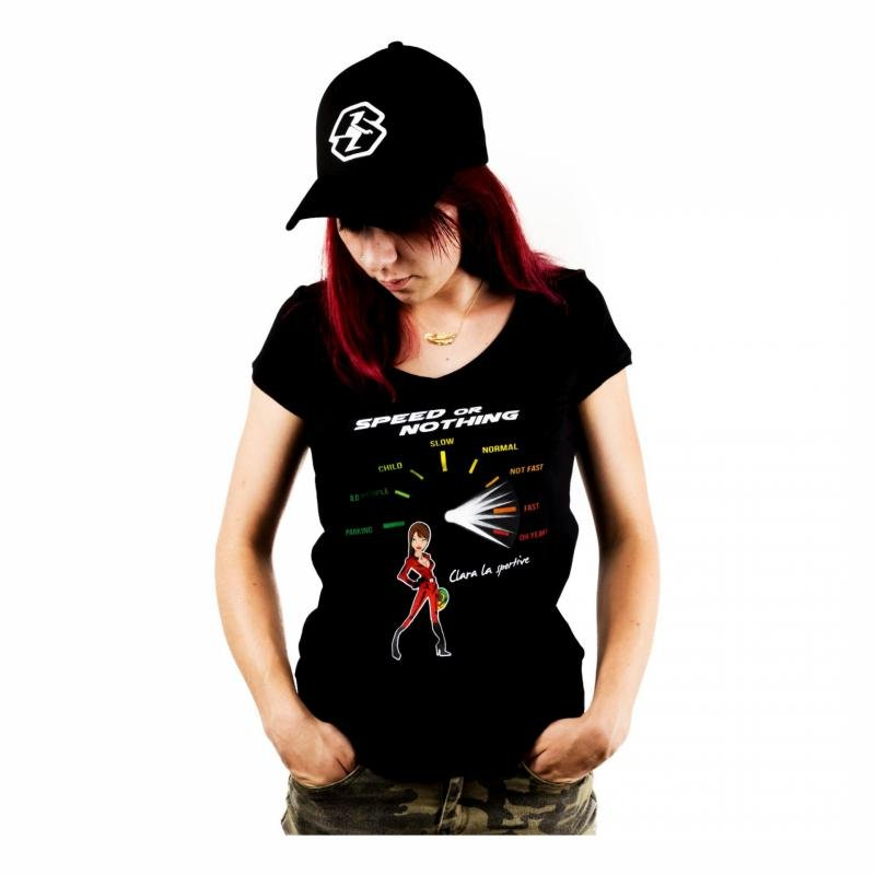 T-Shirt Speed or Nothing Femme