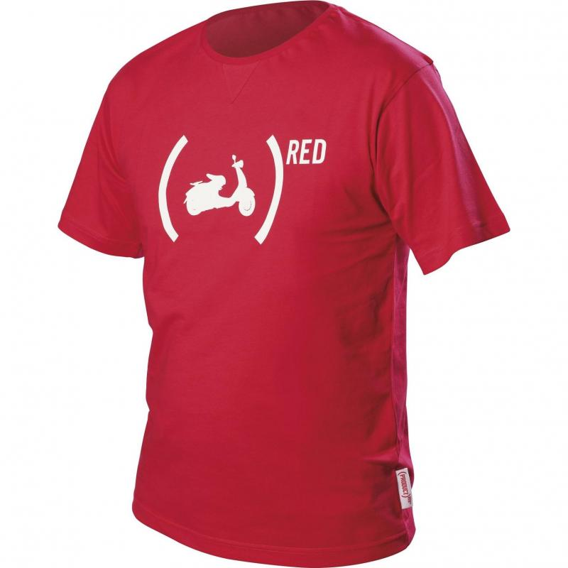 T-shirt Vespa 946 rouge