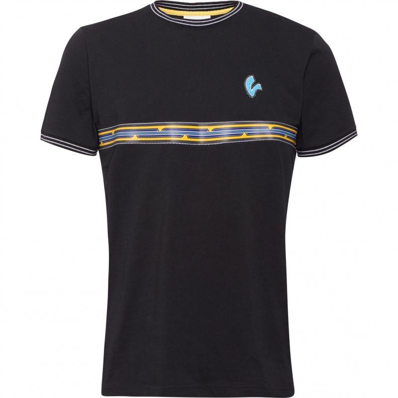 T-shirt Vespa V-Stripes noir