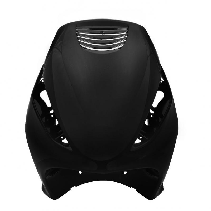 Tablier Avant adaptable Zip 50 2t Air Noir métal