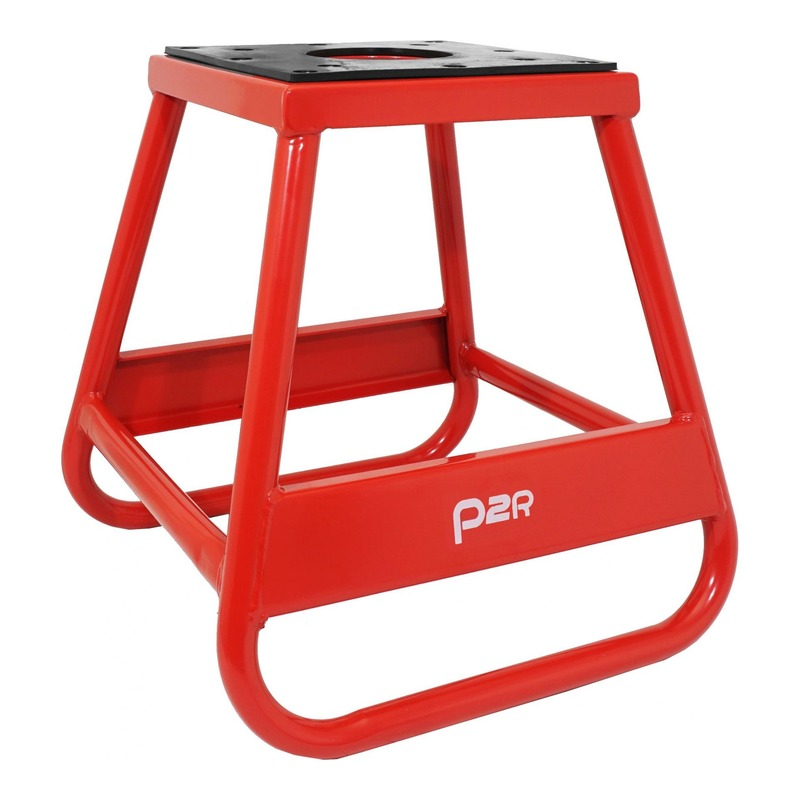 Tabouret béquille de stand Moto-Cross acier rouge