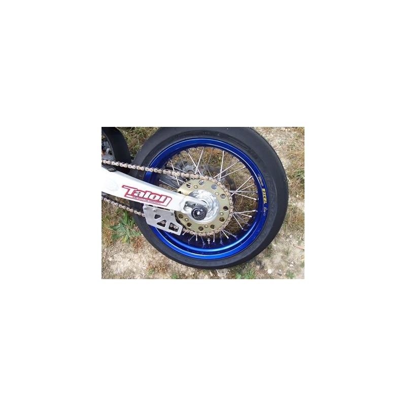 Tampons de bras oscillant R&G Racing noir Yamaha YZ 450 F 03-18