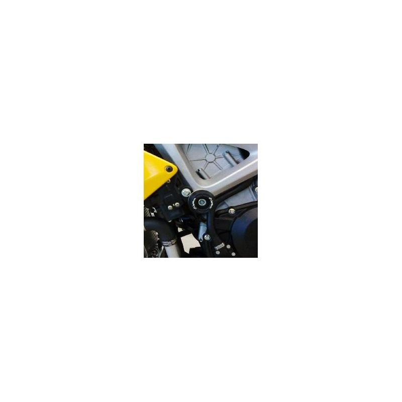 Tampons de protection Lightech insert noir Aprilia Tuono V4 11-14