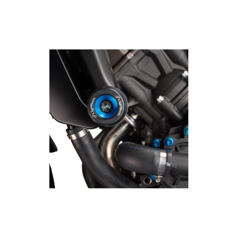 Tampons de protection Lightech insert noir Yamaha MT-09 2017