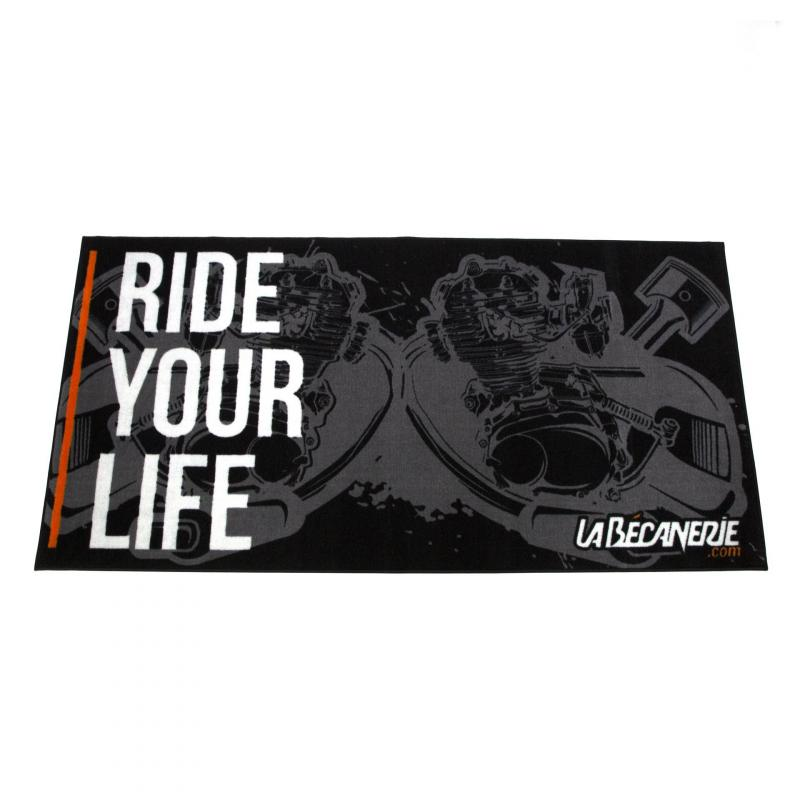 Tapis environnemental Moto La Bécanerie Ride Your Life 100 x 200
