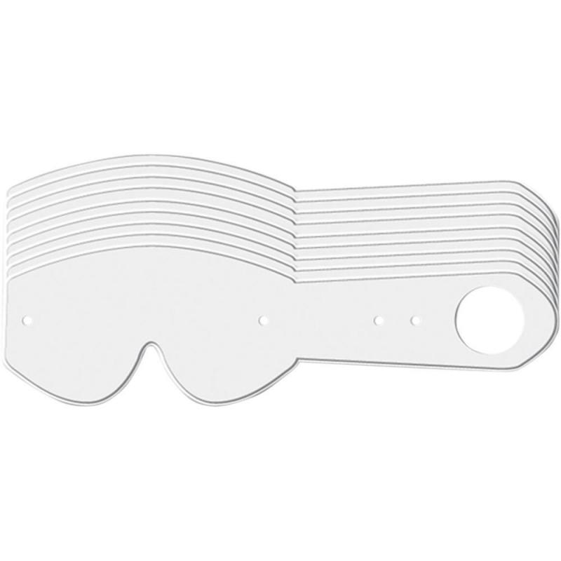 Tear-off Progrip pour masque Vista 3371 lot de 10 pièces