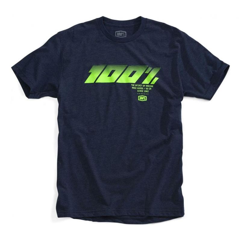 Tee-shirt 100% Eldora navy