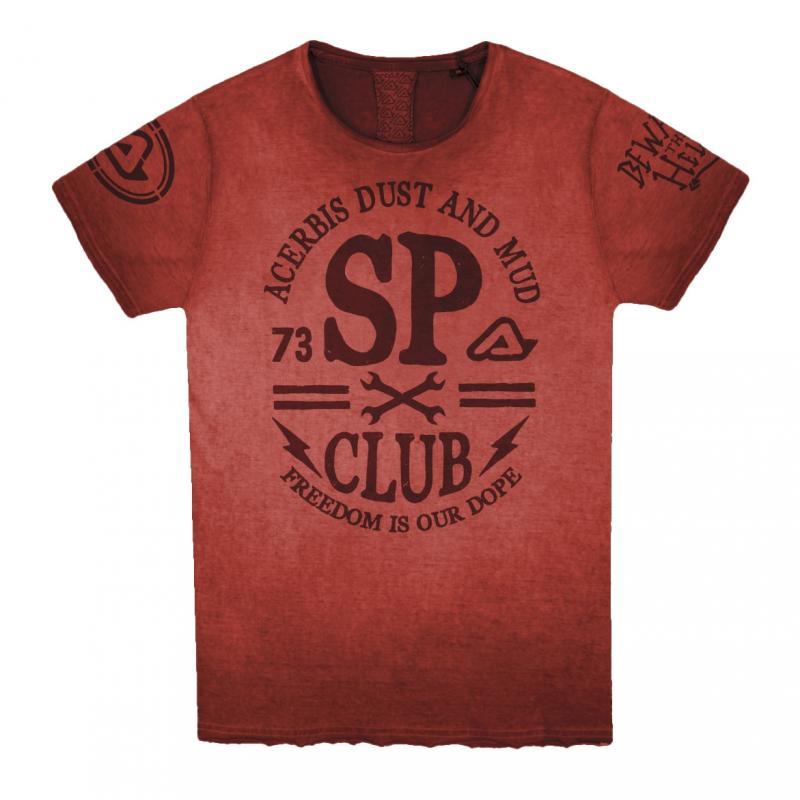Tee-shirt Acerbis SP Club rouge