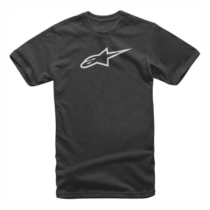 Tee-shirt Alpinestars Ageless II charcoal heather/gris
