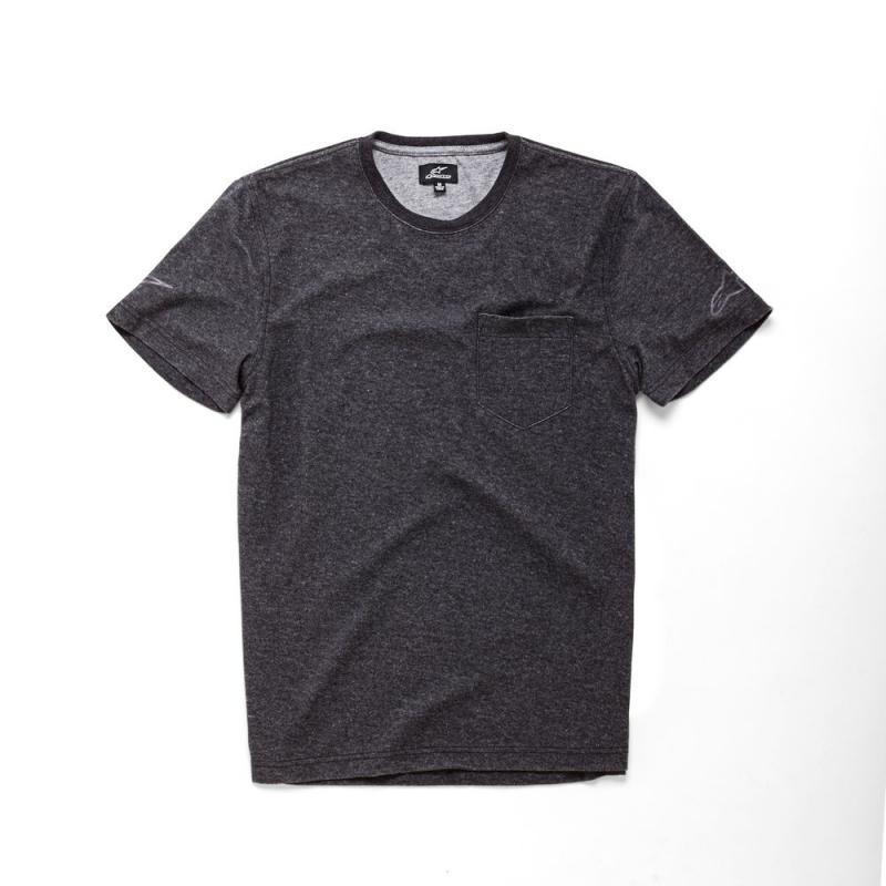 Tee-shirt Alpinestars Circuit SS noir/gris