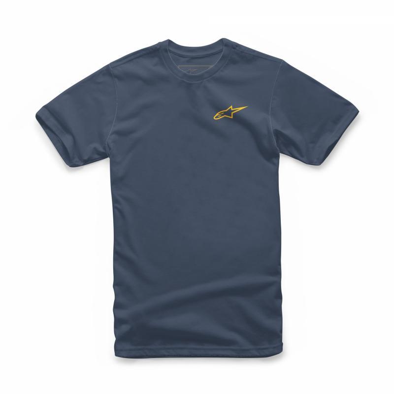 Tee-shirt Alpinestars Neu Ageless navy/or