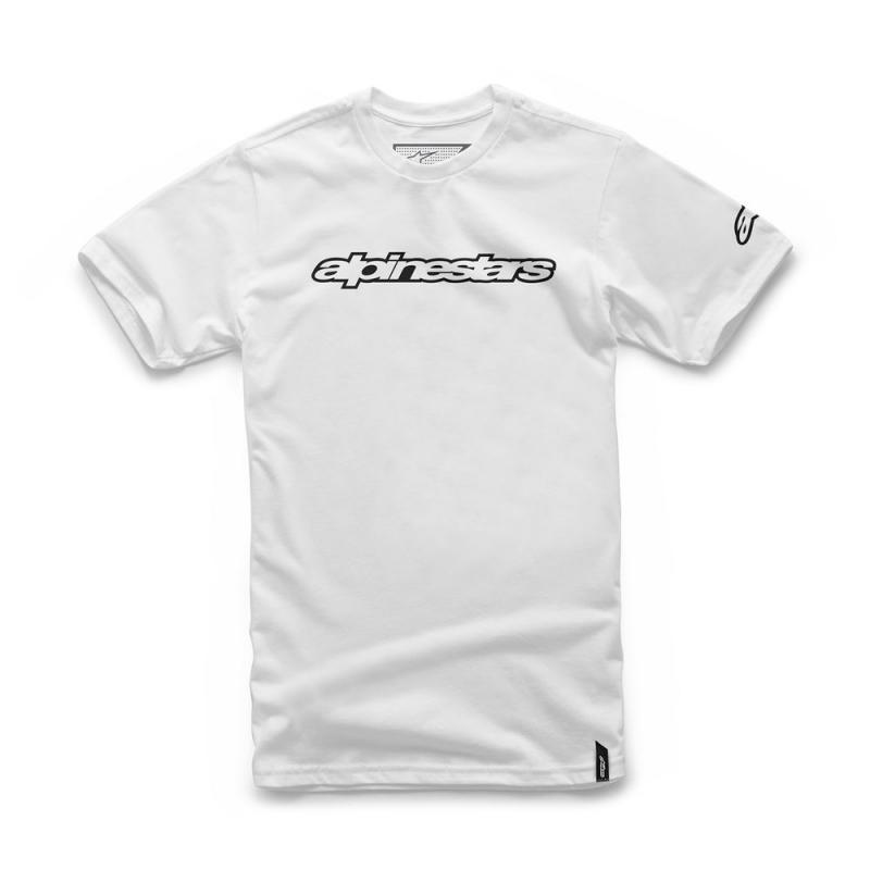 Tee-shirt Alpinestars Wordmark blanc