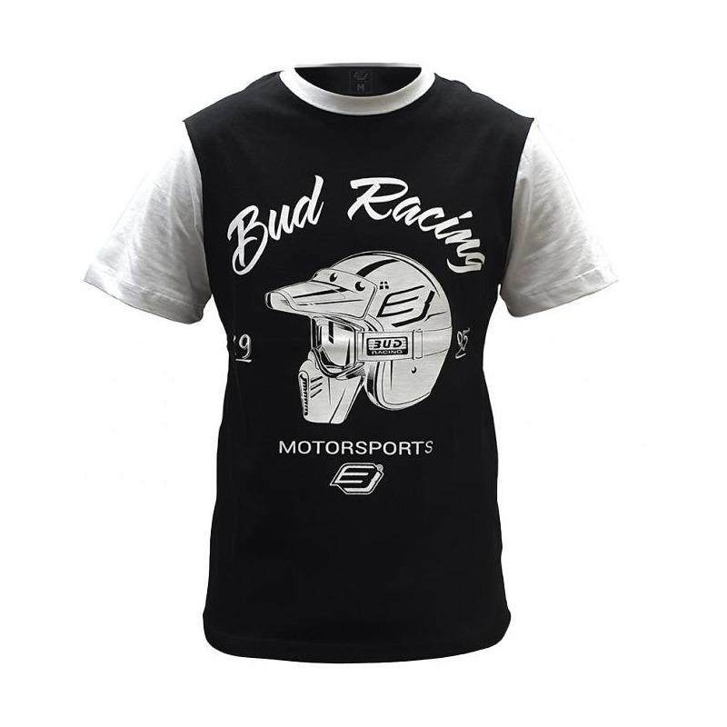 Tee-shirt Bud Racing Helmet noir