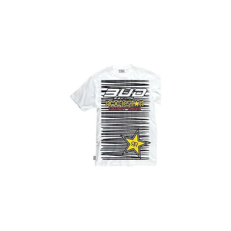 Tee-shirt Bud Racing Zebra blanc