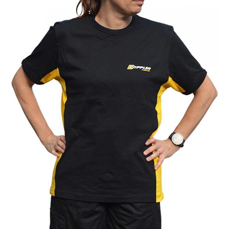 Tee-shirt Doppler noir / jaune